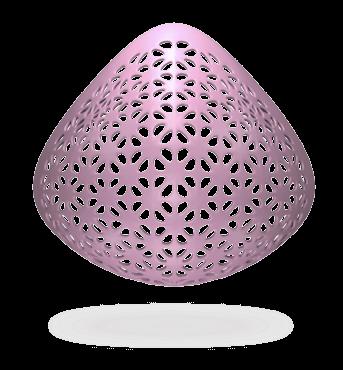 Cali® Generica Triangular. Prótesis de mama externa post mastectomía, Estandar, Fresca, Peso Ideal, para Nadar y uso Diario.